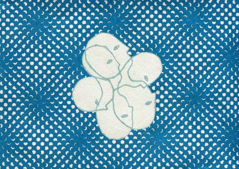 Ilustracja Julity Goździk do tekstu poświęconego Mardi, powieści Hermana Melville'a.