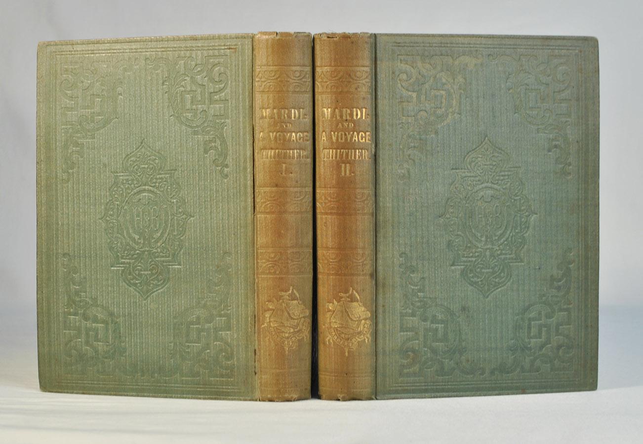 Mardi - pierwsze wydanie powieści Hermana Melville'a